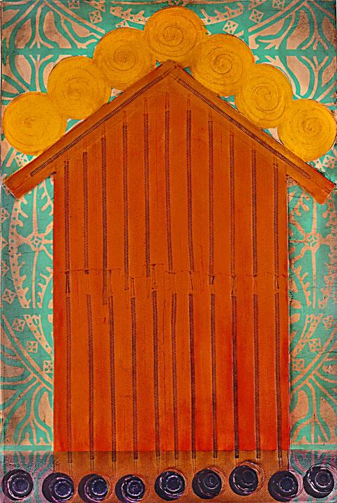 The Orange House.